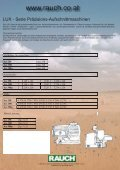 Aufschnittmaschine mit Getriebeantrieb - Rauch - Seite 2