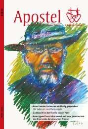 Zeitschrift der Arnsteiner Patres Ausgabe 1/2009 März 2009