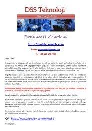 Download File - DSS TEKNOLOJI & Freelance IT Service - Weebly