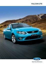 FALCON UTE - Brisbane Ford Dealer - Used Cars Brisbane