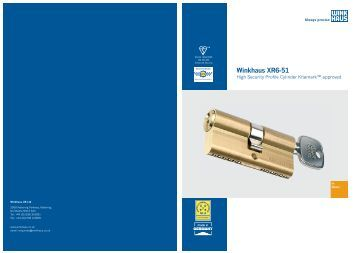 Winkhaus magazines for High performance windows