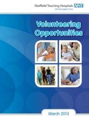 NHS Volunteer OPPS 16PP FEB2013 unplanned_Layout 1 27/02/2013 16:04 Page 1