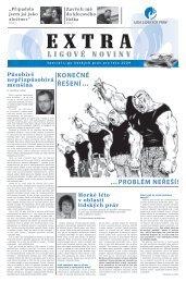 EXTRA ligové noviny | číslo 0 | léto 2009  | Speciál Ligy lidských práv
