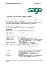 Systemvoraussetzungen - TH Software