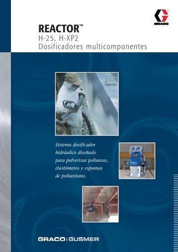 337865S , REACTOR H-25, H-XP2 Dosificadores ... - Tecnopol