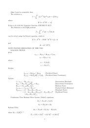 Okay I need to remember that: The solution to J = ∫ ∞ xT 0 eAT ...