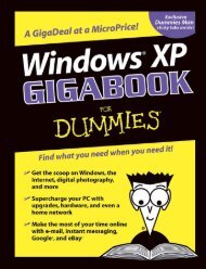 Windows XP Gigabook for Dummies
