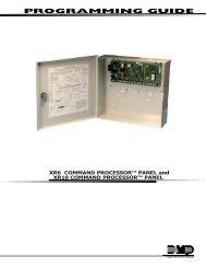 PROGRAMMING GUIDE - dmp.com - Digital Monitoring Products