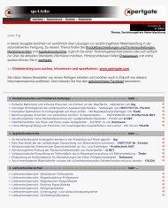 Drucken - Xpertgate GmbH & Co. KG