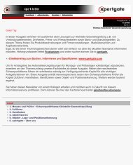 Direkteinstieg zum Suchen, Informieren und Spezifizieren