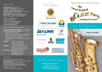 24 - 26 August 2012 - Magnetic Island Jazz Festival