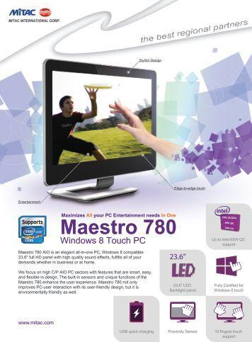 Maestro 780 - MiTAC