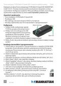 Hi-Speed USB AnAlog TV/FM RAdio STick qUick ... - Manhattan - Page 6