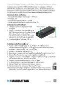 Hi-Speed USB AnAlog TV/FM RAdio STick qUick ... - Manhattan - Page 7