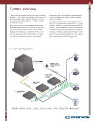 Product Line Overview: Tuners - Crestron