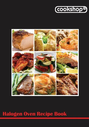 Halogen Oven Recipe Book (pdf) - Ideal World