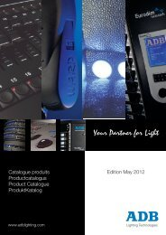 English - ADB Lighting Technologies