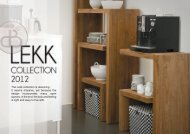 The Lekk collection is deceiving. It seems ... - Domicile Inconnu