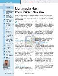 Multimedia dan Komunikasi Nirkabel - Bebas