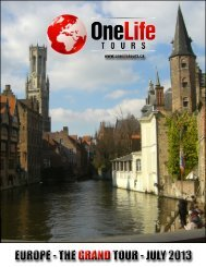 OneLife Tours