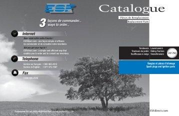 Bougies & pièces d'allumage - ESF