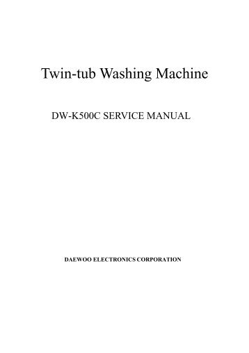 Table of contents 1 exte twin tub washing machine daewoo electronics asfbconference2016 Image collections