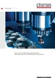 Fast, powerful, single and twin-spindle precision machining centers ...