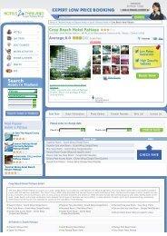 Cosy Beach Hotel Pattaya - Hotels 2 Thailand