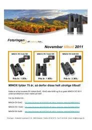 November tilbud 2011 - Danish1
