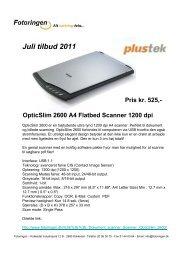 Juli tilbud 2011 - Danish1