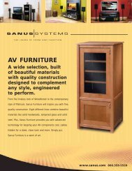 AV FURNITURE - Sanus
