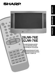 deutsch - Sharp Electronics Europe GmbH