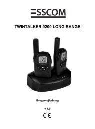 twintalker 9200 long range - Esscom