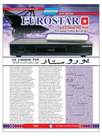 Eurostar ES-C4000 - Dish Channels