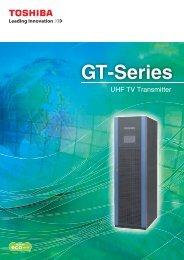 GT-Series UHF TV Transmitter