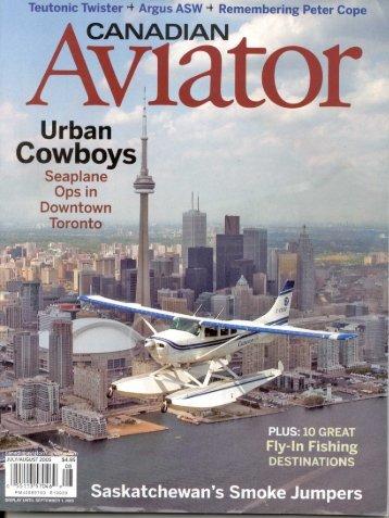 Twister In Canadian Aviator(pdf) - Pacific AeroSport, LLC