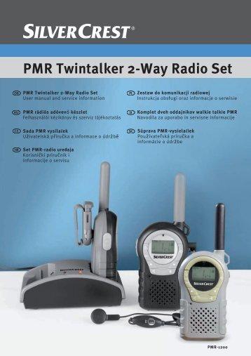 PMR Twintalker 2-Way Radio Set - Targa Service Portal