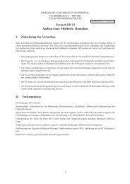 Versuchsanleitung EP13 (Version 9.2012)