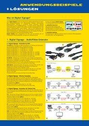 1. Digital Signage - Audio/Video-Extension