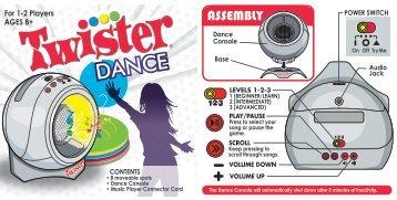 Twister Hopscotch Instructions Hasbro