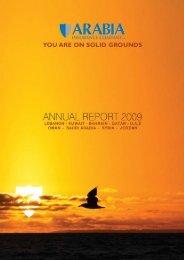 arabia insurance annual report 2009- english
