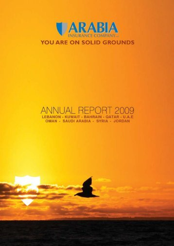 arabia insurance annual report 2009- english
