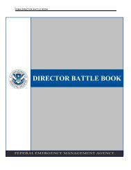 FEMA Battle Book - Public Intelligence