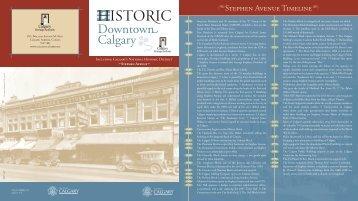 Historic Downtown Calgary - The City of Calgary