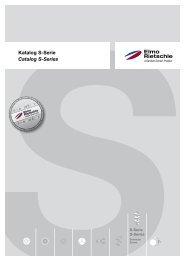 Katalog S-Serie Catalog S-Series - Elmo Rietschle