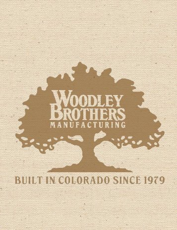 Woodley Brothers Catalog - Woodley's Fine Furniture