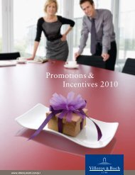 Promotions & Incentives 2010 - Van Heek Design » Geschenken