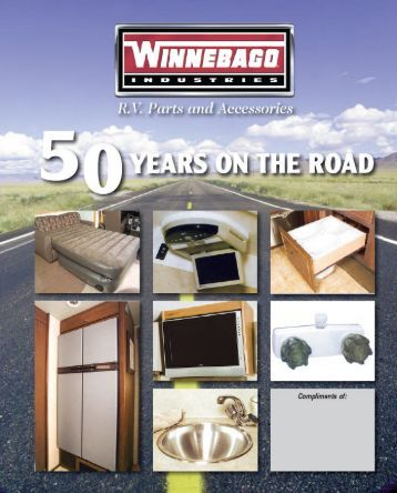 R.V. Parts and Accessories Catalog - Winnebago Industries