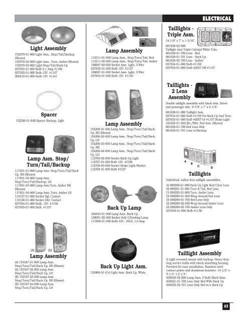 Light Assembly 152070-01-
