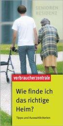 FLYER _ PDF - Wie finde ich das richtige Heim _ 10 ... - Melsungen